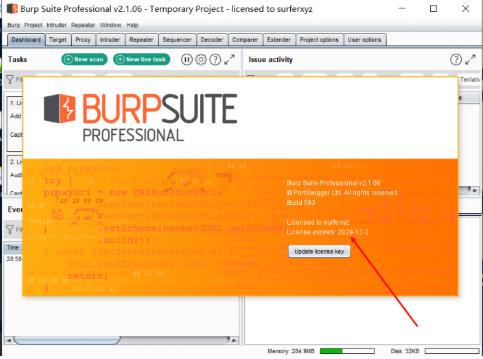 BurpsuiteV2.1.06破解版下载