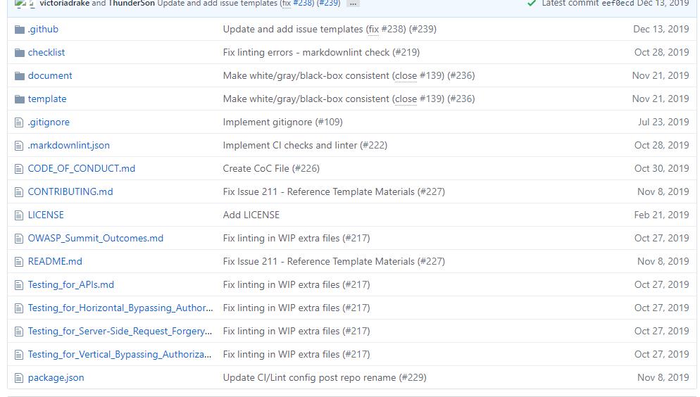 渗透测试指南OWASP Testing Guide v5