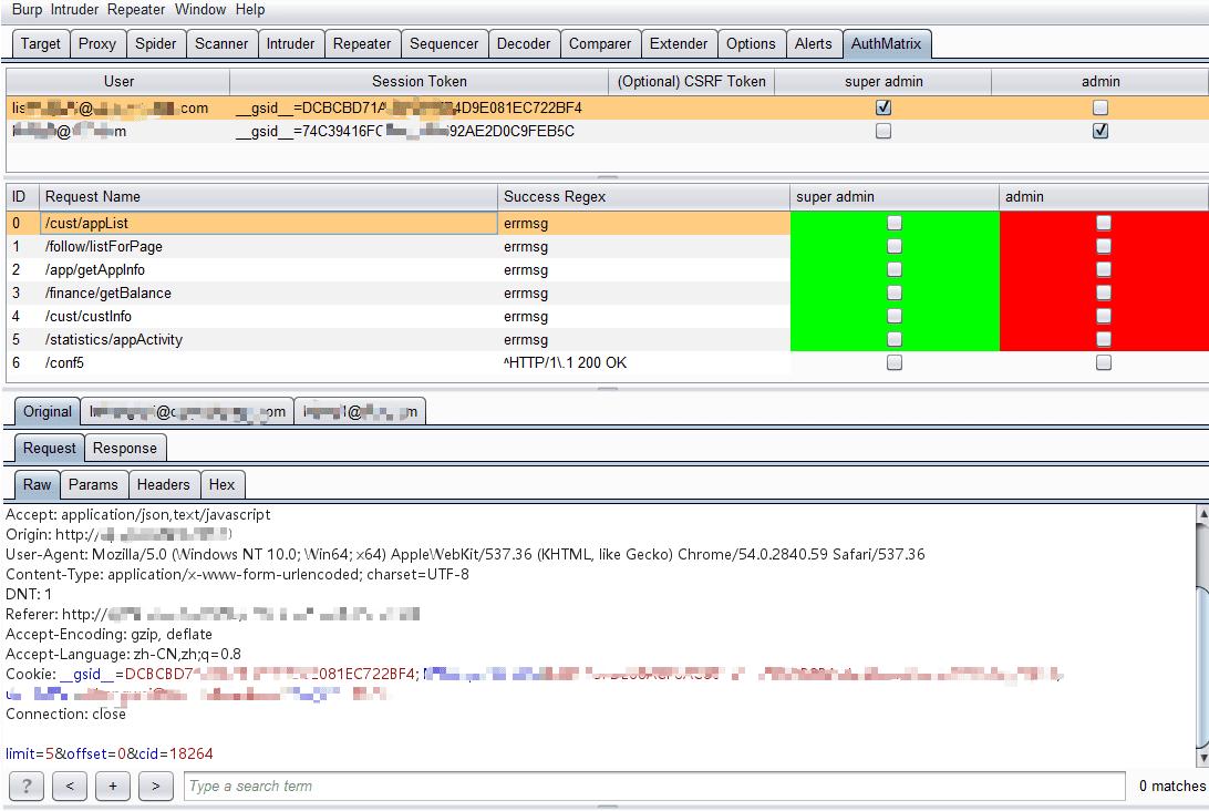 BurpSuite插件越权漏洞检测