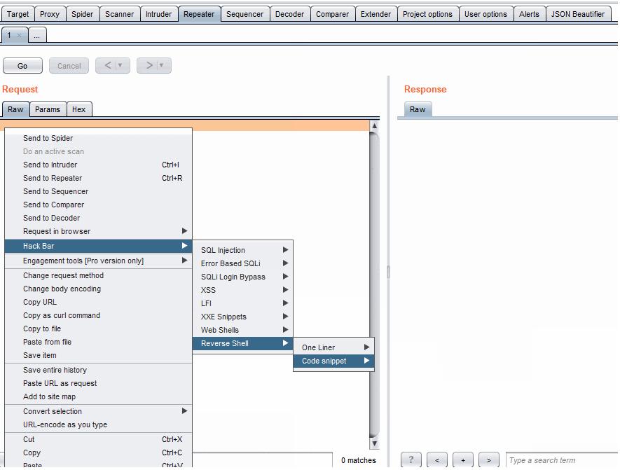 Burpsuite插件hackbar集合检测