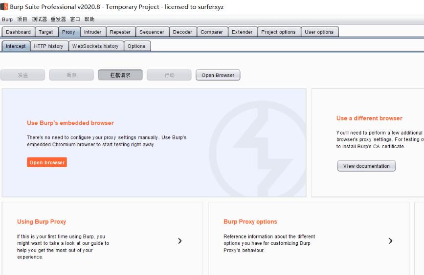 BurpSuiteProV2020.8破解版下载